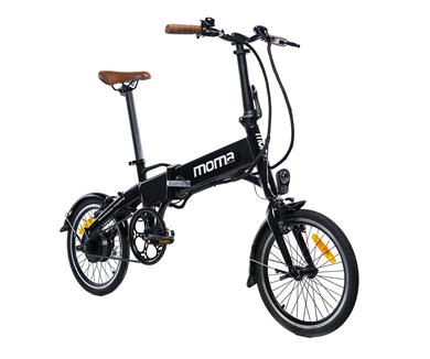 Bicicleta eléctrica plegable Carrefour