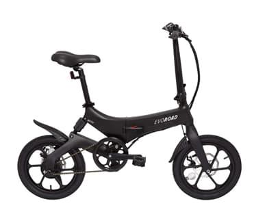 Bicicleta eléctrica evo road Carrefour